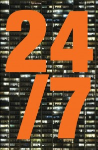 Book cover of 24/7: Late Capitalism and the Ends of Sleep by Jonathan Crary © 2013 Verso
