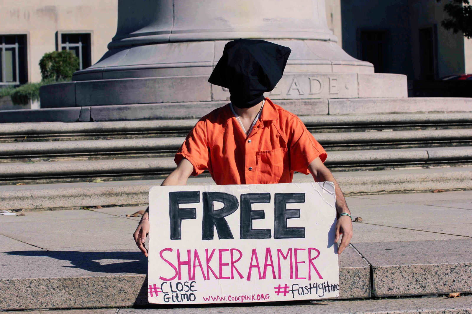 We Are America Guantnamo The Aamer Appeal And Passion Of First Circuit Board Design Flickr Photo Sharing Demonstrator During In Front Us Court Appeals Washington