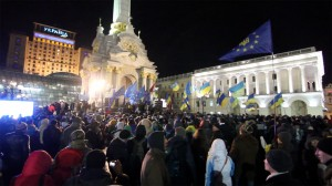 Protests in Kiev on November 27 © Ryan Anderson | Flickr