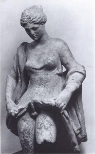Hermaphrodite in Anasyronomenos pose from the book Naked Truth by Koloski-Ostrow, O., and Lyons, C. (1997) Routledge | Public Domain  Wikimedia Commons