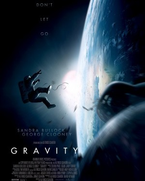 Gravity film poster © Warner Bros. Pictures | IMP Awards