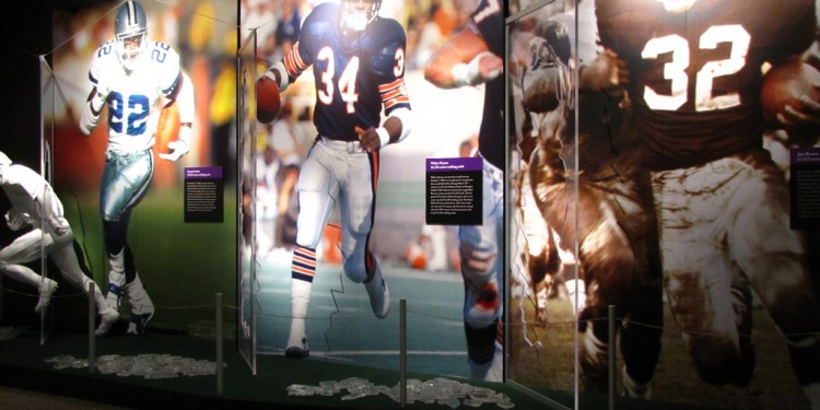 Super Bowl Gallery  at the Pro Football Hall of Fame © 2010 Matt McGee | Flickr