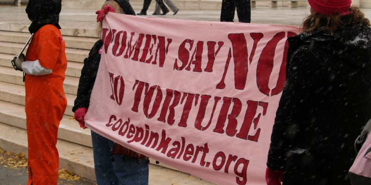 Women Say NO To Torture, Outside The Third Guantanamo Hearing (Washington, DC), 2007 © Jim Kuhn | Flickr