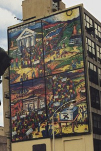 Mural in Cape Town celebrating the 1994 South African elections. © Carwil James | Wikimedia Commons