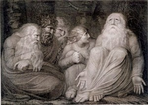 """""""Job's Tormentors"""" engraving by William Blake, 1793 © Unknown 