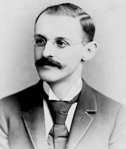 """Abraham Flexner in 1895, author of """"The Flexner Report"""" (1910) © Unknown 