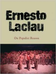 Book cover of On Populist Reason by Ernesto Laclau (reprint edition) © 2007 Verso | Amazon.com
