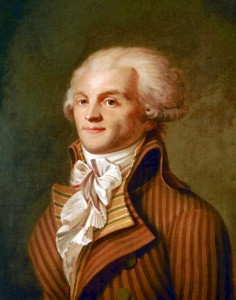 Portrait of Maximilien de Robespierre (1758-1794), oil on cavas, circa 1790 by unknown artist © The Carnavalet Museum | paris.fr/portrait/culture
