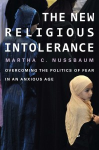 Book cover of The New Religious Intolerance by Martha C. Nussbaum © Harvard University Press | Amazon.com