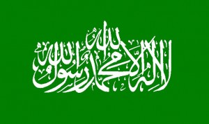 Flag of Hamas © Orthuberra | Wikimedia Commons