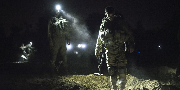 IDF Soldiers Uncover Tunnels in Gaza, July 17, 2014 © IDF | Flickr