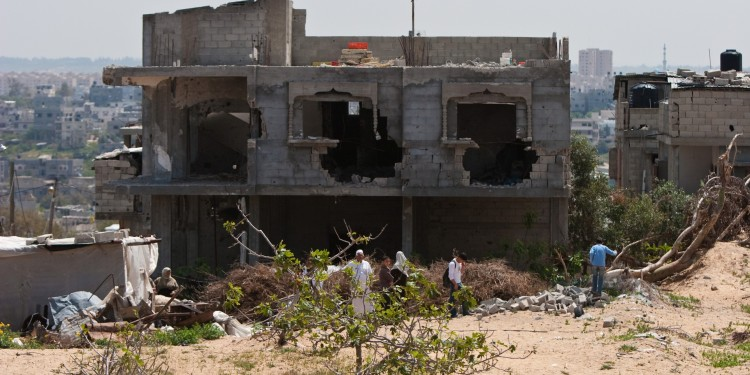 House destroyed by IDF in Gaza, 2009 ©  Marius Arnesen | Flickr