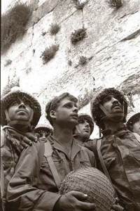 IDF Paratroopers at Jerusalem's Western Wall shortly after its capture in 1967 © 2011 marsmet541 | Flickr