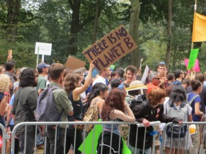"""There is no Planet B"" sign at the People's Climate March, NYC © Andrew Cheu 