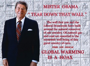 Propaganda linking Obama and global warming with Communism © Gene Tew | Flickr