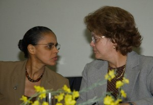 Marina Silva and Dilma Rousseff as Ministers under President Lula © Fabio Rodrigues Pozzebom | Agência Brasil