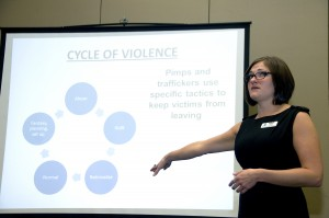 Still from a workshop on human trafficking given by Kristin Heydel © Oregon Department of Transportation | Flickr