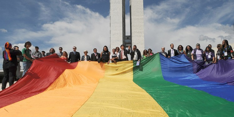 LGBTQ Flag at Brazilian National Congress © Luiz30 |Wikimedia Commons.
