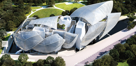 Frank Gehry Louis Vuitton Foundation