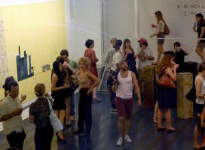 """Art opening for """"CIRCA 2012"""" at White Box Gallery, New York © 2008 j-No 