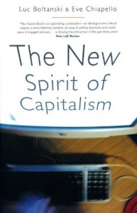 Book cover of The New Spirit of Capitalism by Luc Boltanski, Eve Chiapello, translated by Gregory Elliott © Verso | Amazon