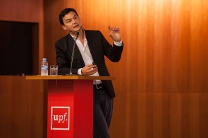 Thomas Piketty © Universitat Pompeu Fabra | Flickr