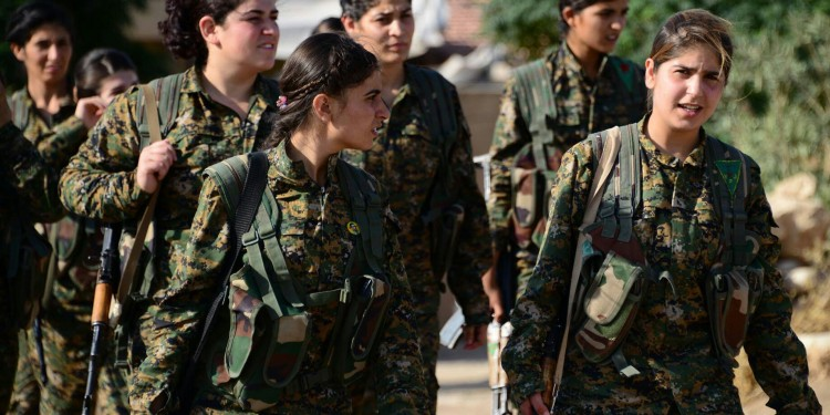 Women fighters of Kobane © free kurdistan | Flickr