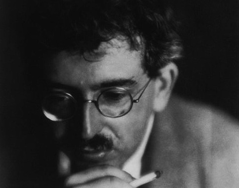 Walter Benjamin by Germaine Krull 1926