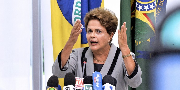 The embattled President Rousseff © Senado Federal | Flickr