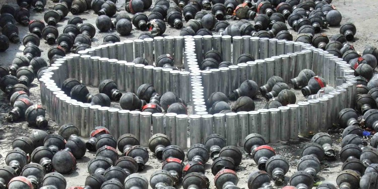 Peace Canisters in Bil'in, Palestine © Netta van Vliet | Courtesy of the author