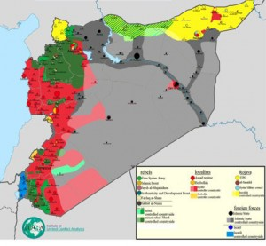 The Situation in Syria © Thomas van Linge | Wikimedia Commons