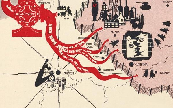 From cover of Timothy Barney's Mapping the Cold War, 2015 © University of North Carolina Press⎜Courtesy of the author