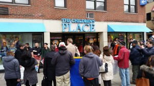 Protest at a Children's Place store in New York City, March 2015 © Eric Dirnbach | Courtesy of the author