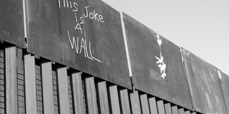 Este chiste es una pared. Frontera Norte Mexico - USA © Mario Castillo | Flickr