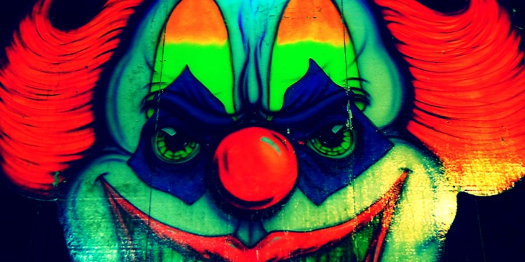 evil clown © jillian.e | Flickr