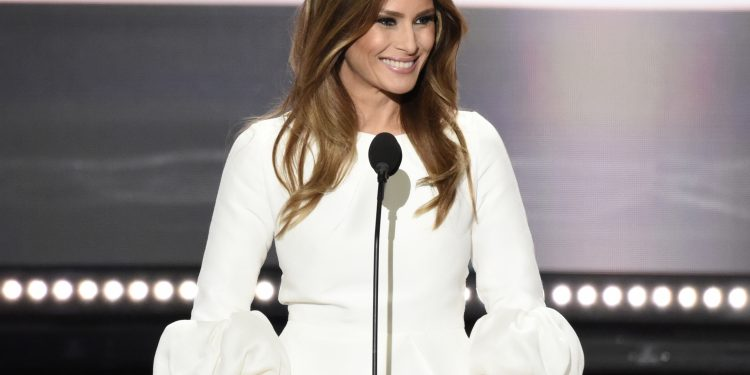 ABC NEWS - 7/18/16 - Coverage of the 2016 Republican National Convention from the Convention Center in Cleveland, Ohio, which airs on all ABC News programs and platforms.   (ABC/ Ida Mae Astute)   MELANIA TRUMP |Flickr