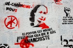 Street art celebrating the real-life Louise Michel © Frédéric BISSON |Flickr