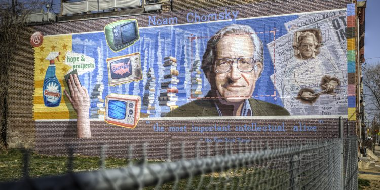 Noam Chomsky, really? Esoteric Mural © Terry Robinson | Flickr