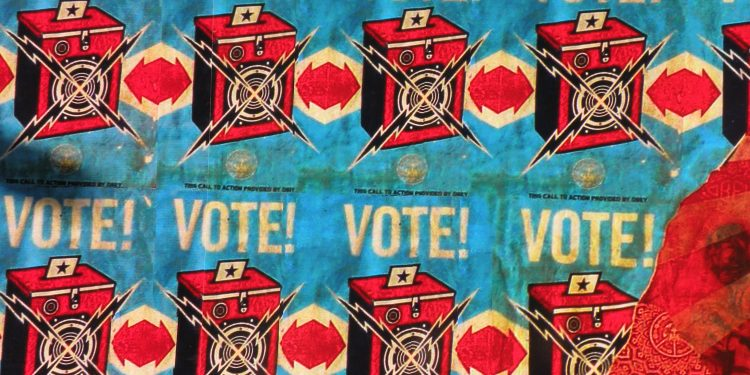 Shepard Fairey's work on the streets of San Francisco. © Michael Pittman | Flickr