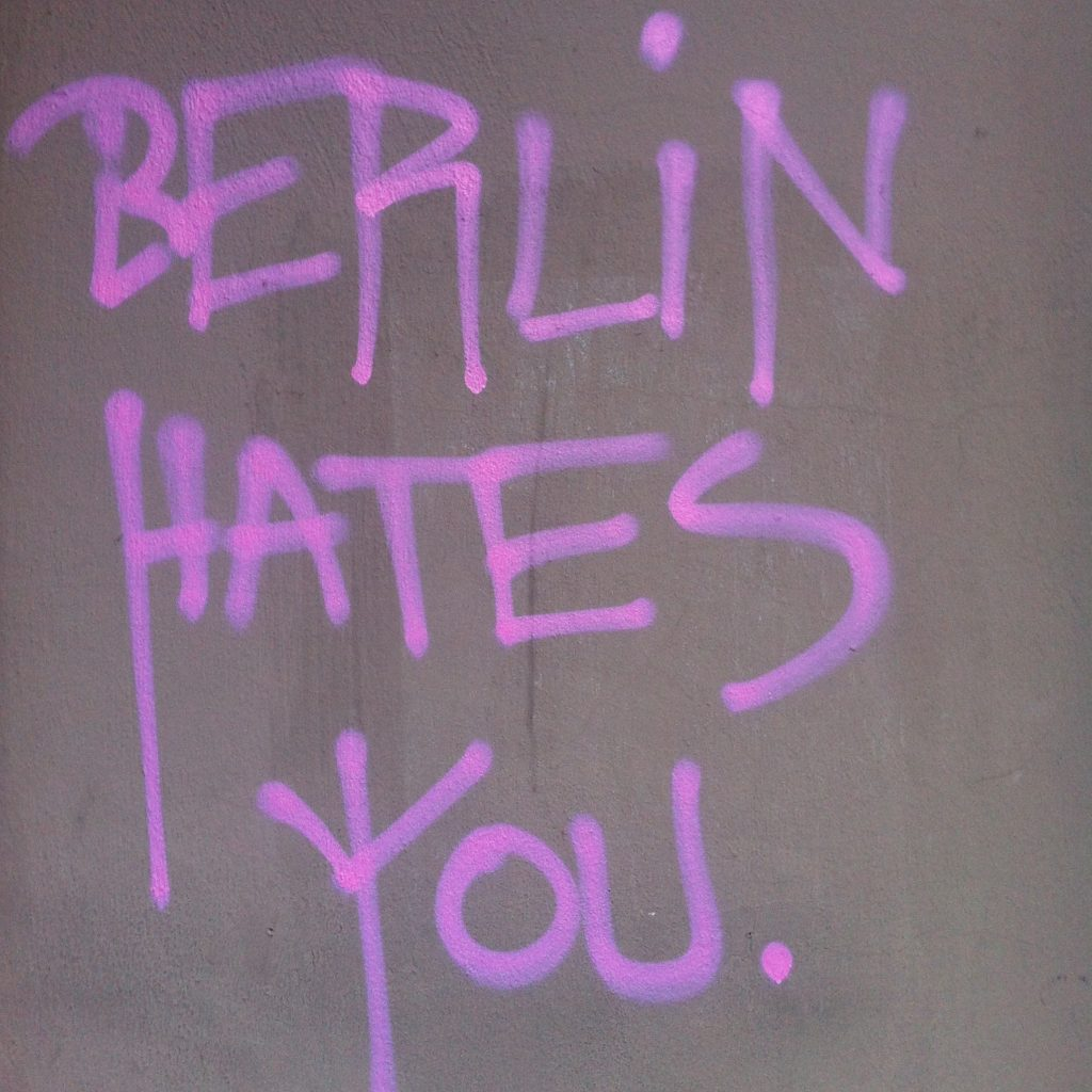 Berlin Hates You © Agata Lisiak