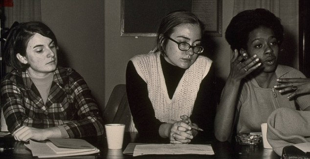 Hillary Rodham Clinton (center) at Wellesley College, circa 1969 © Sygma/Corbis | Creative Commons