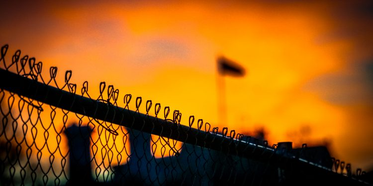 Sunset at the White House, Fences still up from the inauguration stands © Ted Eytan | Flickr