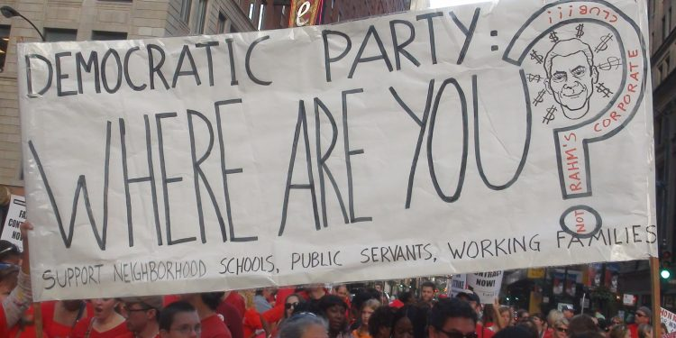 CTU Strike: 'Democratic Party, Where Are You?' © firedoglakedotcom | Flickr