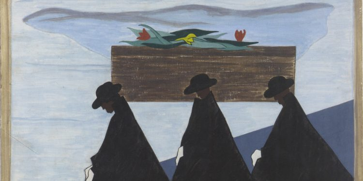 Migration Series, Panel 55 © Jacob Lawrence, 1941