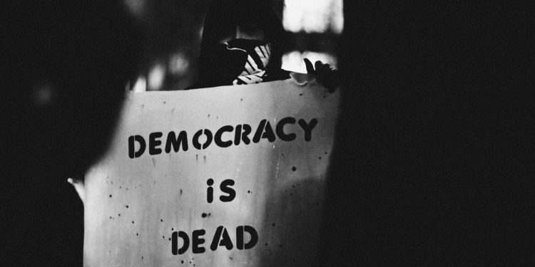 Democracy is Dead © Roscoe Myrick, www.shotboxer.com | Flickr
