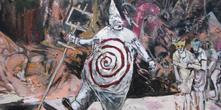 Hernan Bas  Detail: Ubu roi (The War March), 2009 © C-Monster | Flickr
