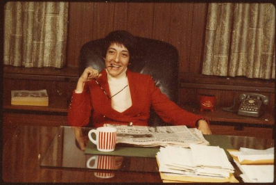 "Margaret ""Midge"" Costanza, Director of the Office of Public Liaison in the Carter Administration, December 20, 1977 (Photo courtesy of National Archives and Records Administration.)"