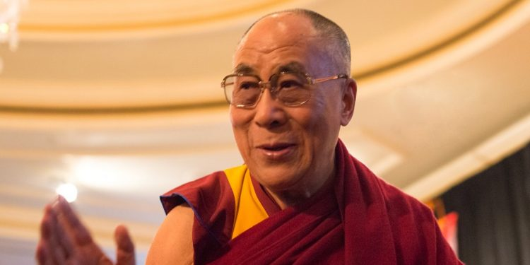 HIs Holiness the Dalai Lama, February 2014 (Wikicommons)