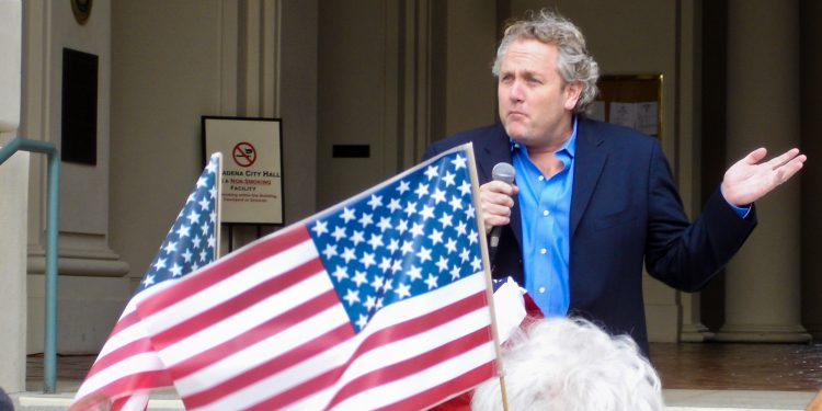 Andrew Breitbart in 2009 © Shal Farley | Wikimedia Commons