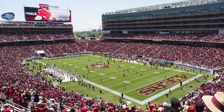 San Francisco 49ers Levis Field, 2014. (Photo credit: Jim Bahn, Wikimedia Commons)